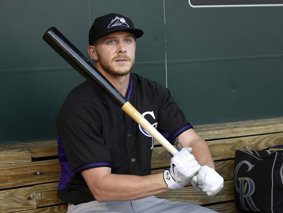 Trevor Story was a pleasant surprise for the Rockies this season. (AP)