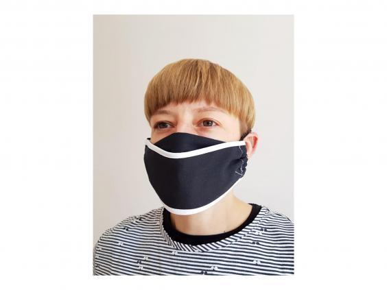 With elastic ear loops, this mask will stay securely fitted to your face (Good Ordering)