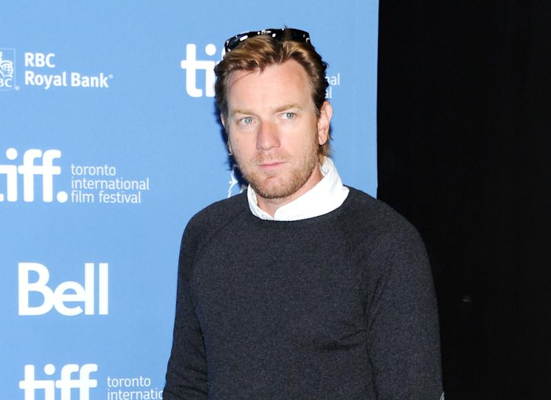 """FILE - This Sept. 10, 2013 file photo shows actor Ewan McGregor at the press conference for """"August: Osage County"""" at the 2013 Toronto International Film Festival in Toronto. McGregor will make his Broadway debut next year in a revival of Tom Stoppard's """"The Real Thing."""" Roundabout Theatre Company said Thursday McGregor will play the unhappily married Henry in the play under the direction of Sam Gold. Previews begin next October at the American Airlines Theatre. (Photo by Evan Agostini/Invision/AP, File)"""