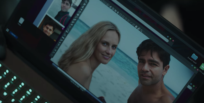 If someone I was dating sent me photoshopped pictures with them, I would run for the fucking hills.