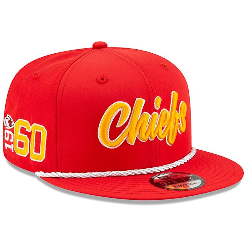Chiefs 2019 NFL Sideline Official 1960s Hat