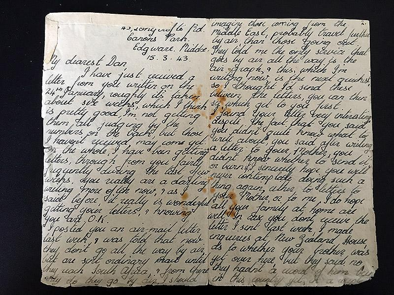 Daughter receives trove of hidden love letters her parents exchanged daughter receives trove of hidden love letters her parents exchanged during wwii they read like spiritdancerdesigns Gallery