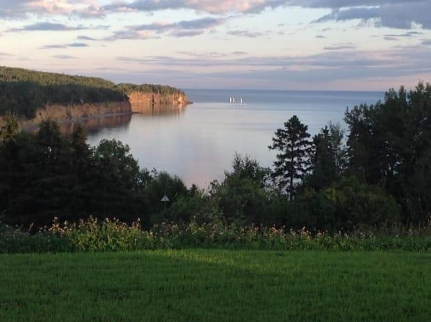 Janet Howatson sent in this picture, saying this part of the Gaspe is among the most beautiful in Canada. ( - image credit)