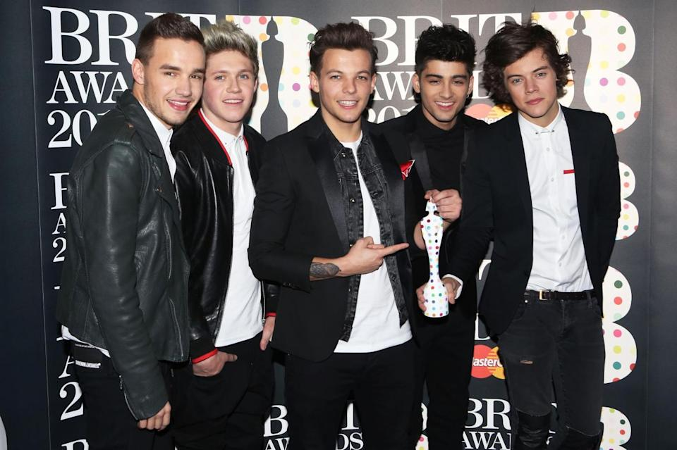 One Direction achieved staggering success. Copyright: [Rex]