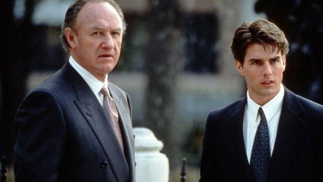 <p><strong><em>The Firm </em></strong></p><p>There was a time in the 90s when John Grisham books were everywhere (<em>and</em> instant bestsellers) and the movies that were based on them, like this Tom Cruise and Gene Hack one, were instant hits. </p>