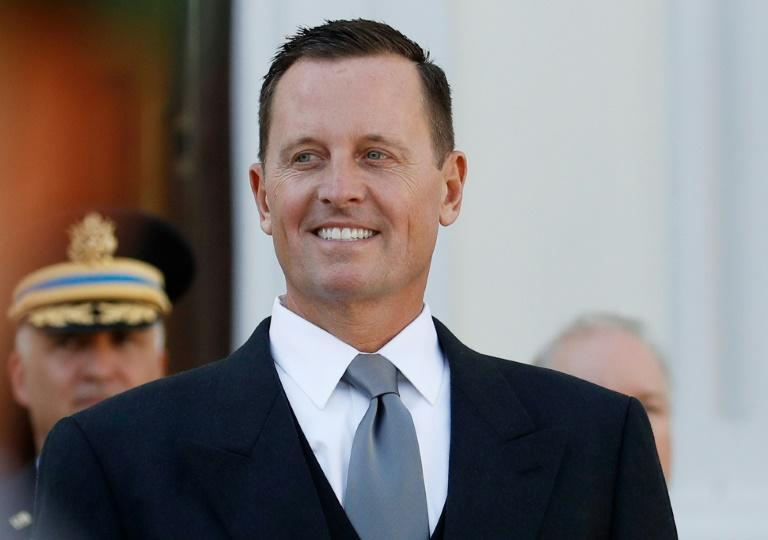 "On his first day as US ambassador to Germany earlier this year, Richard Grenell tweeted that ""German companies doing business in Iran should wind down operations immediately"""