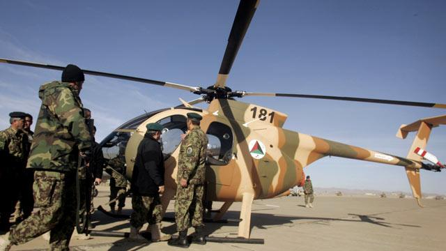 Afghan Air Force Suspected of Drug Running: Report