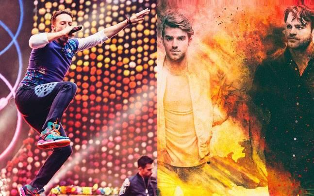 The Chainsmokers Team Up With Coldplay for 'Something Just Like This'