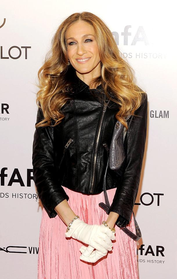 "<b>Team Obama</b>: Actress Sarah Jessica Parker is such a fan of President Obama that she opened her home for the prez! Back in June, the ""Sex and the City"" star co-hosted a fundraiser with <em>Vogue</em> Editor-in-  Chief Anna Wintour in her brownstone in NYC's West Village. Tickets to the soiree were $40,000 a plate, but the 47-year-old raffled off a few tickets to people chosen from among those who donated   at least $3 to the campaign. Unfortunately for any fans of ""Ferris Bueller's Day Off,"" SJP's famous hubby Matthew Broderick wasn't in attendance because he was working on Broadway."