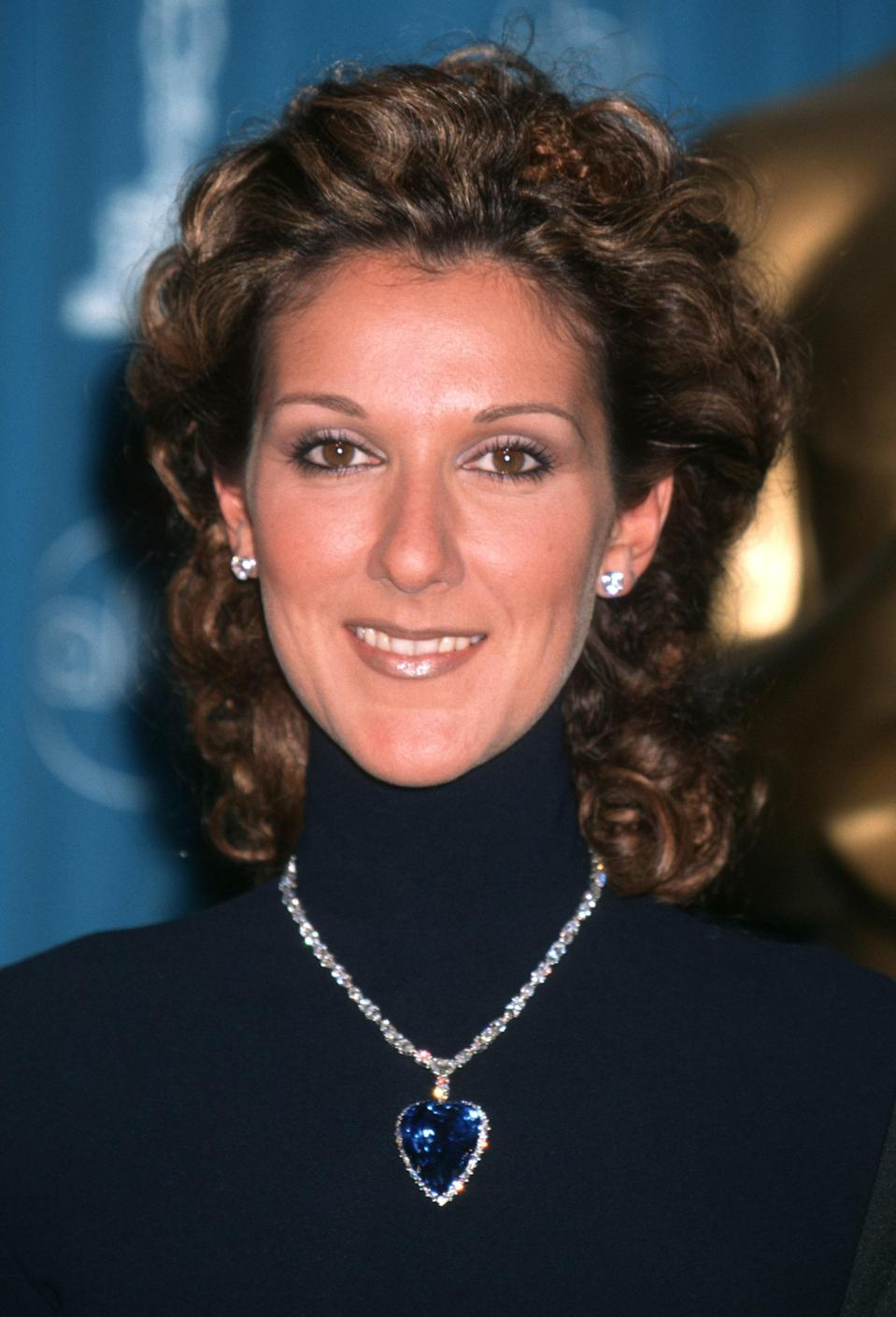 Anyone who has seen <em>Titanic</em> knows the film's pricey Heart of the Ocean necklace is a major plot point. The onscreen prop was a fake created with cubic zirconias, but for the 1998 Oscars, Celine Dion wore a re-creation by London jewelers Asprey & Garrard. Set in platinum with a 171-carat Ceylon sapphire and 103 diamonds, it eventually wound up in a private collection, instead of at the bottom of the ocean.