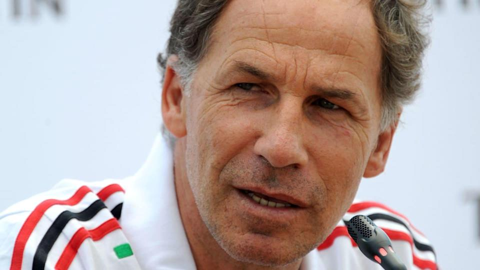 La bandiera rossonera Franco Baresi | SONNY TUMBELAKA/Getty Images