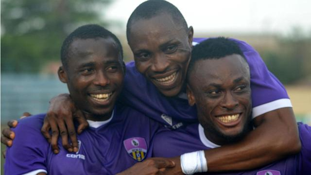 The Olukoya Boys defeated the Solid Miners at the Agege Stadium to climb up in the Nigeria Professional Football League log