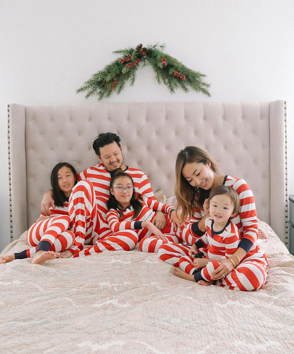 Angela Kim of parenting blog Mommy Diary isn't letting the pandemic dampen her holiday spirit