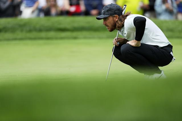 The European Ryder Cup hero is once again in the mix after shooting a 67 at the PGA Championship, part of a strong English contingent in the field at Bethpage