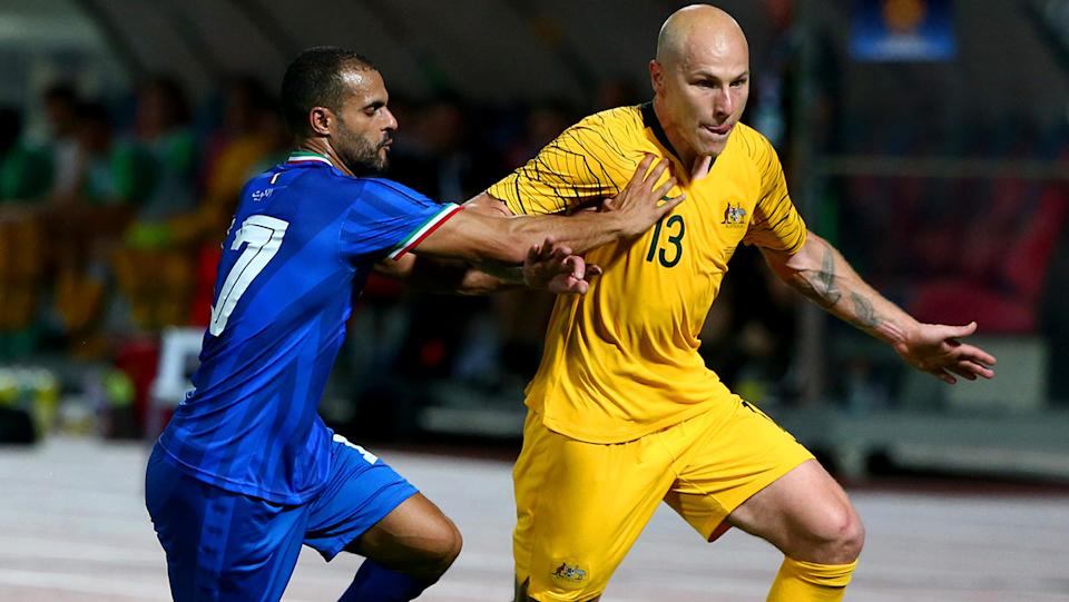 Socceroos star Aaron Mooy hasn't seen his family since joining the Chinese Super League back in August last year. (Photo by Tom Dulat/Getty Images)