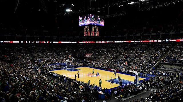 The game will be played at The O2 on Thursday, Jan. 17, which marks the ninth time an NBA regular-season game is played in the city.
