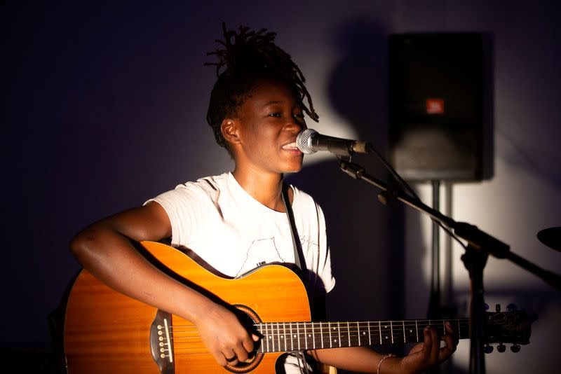Award-winning Congolese singer Banza takes sudden fame in her stride