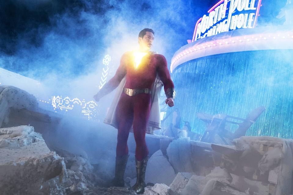 Zachary Levi in 'Shazam!' (Photo: Steve Wilkie/Warner Brothers / Courtesy Everett Collection)