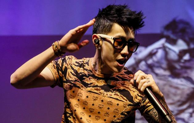 Solo K-pop artist Jay Park performing at STAR Vista (Photo courtesy of Agenda Events)