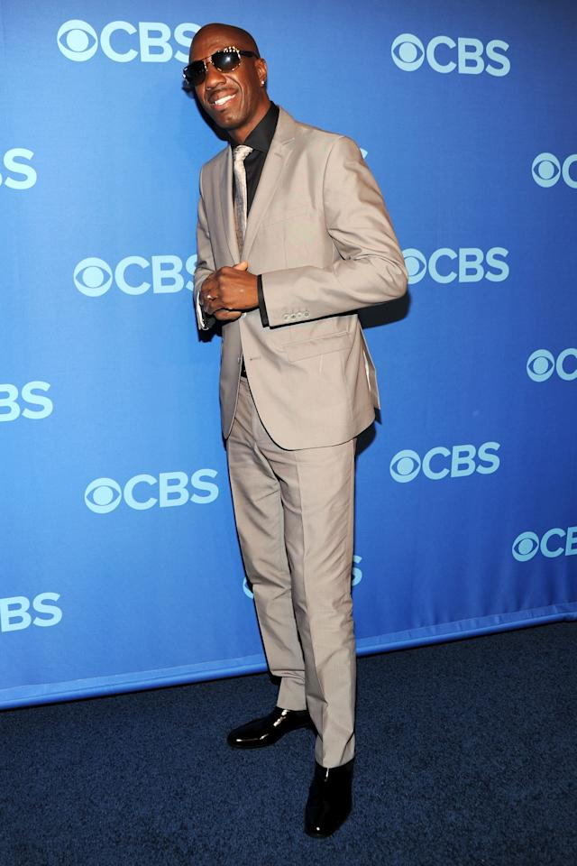 NEW YORK, NY - MAY 15:  JB Smoove attends CBS 2013 Upfront Presentation at The Tent at Lincoln Center on May 15, 2013 in New York City.  (Photo by Ben Gabbe/Getty Images)