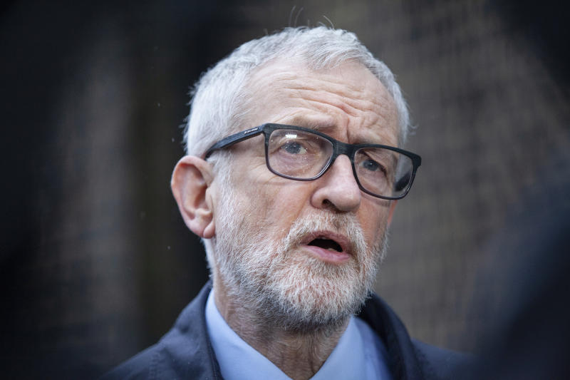 File photo dated 15/03/20 of former Labour leader Jeremy Corbyn, who has been sued by political blogger Richard Millett. A High Court judge has made preliminary findings in a defamation fight featuring the former Labour leader.