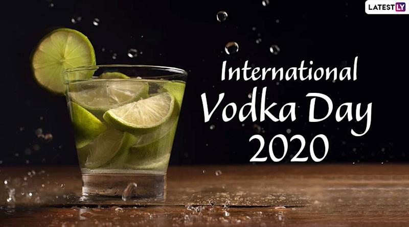 International Vodka Day 2020 Date and Significance: Know the History and of the Observance Related to the Alcoholic Beverage