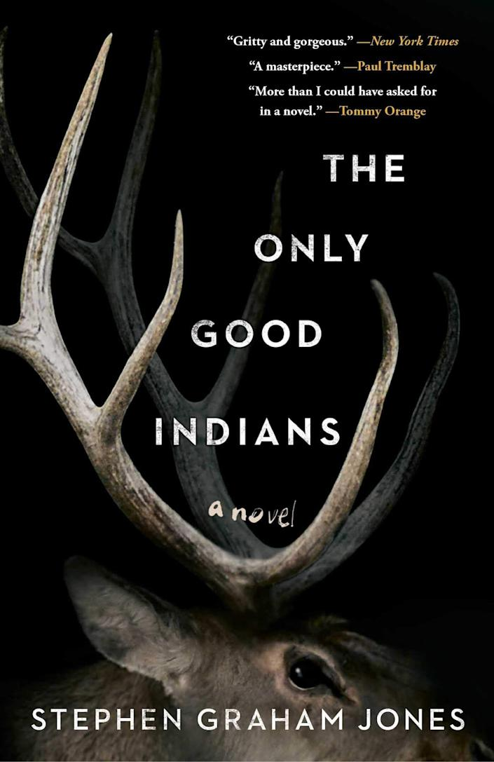 """'The Only Good Indians' follows four American Indian men after a disturbing event from their youth puts them in a desperate struggle for their lives. Tracked by an entity bent on revenge, these childhood friends are helpless as the culture and traditions they left behind catch up to them in a violent, vengeful way.&rdquo; Read more about it on <a href=""https://www.goodreads.com/book/show/52180399-the-only-good-indians"" rel=""nofollow noopener"" target=""_blank"" data-ylk=""slk:Goodreads"" class=""link rapid-noclick-resp"">Goodreads</a>, and grab a copy on <a href=""https://amzn.to/2YR1lPf"" rel=""nofollow noopener"" target=""_blank"" data-ylk=""slk:Amazon"" class=""link rapid-noclick-resp"">Amazon</a>. <br><br><i>Expected release date: July 14</i>"