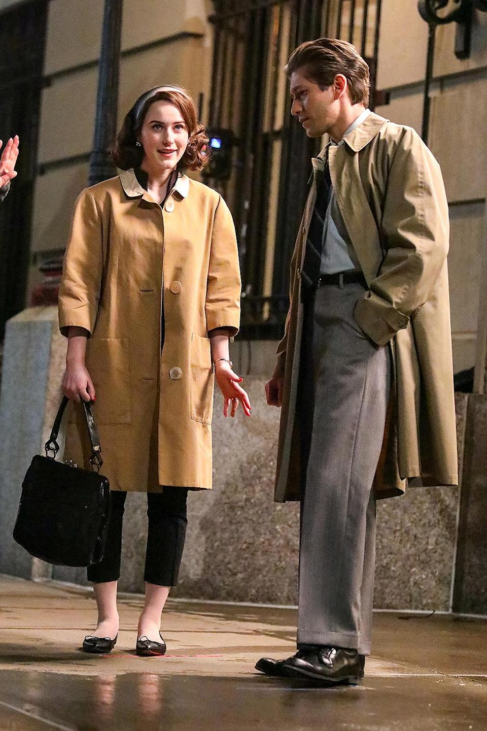 <p>Brosnahan and Zegen also filmed together May 13. </p>