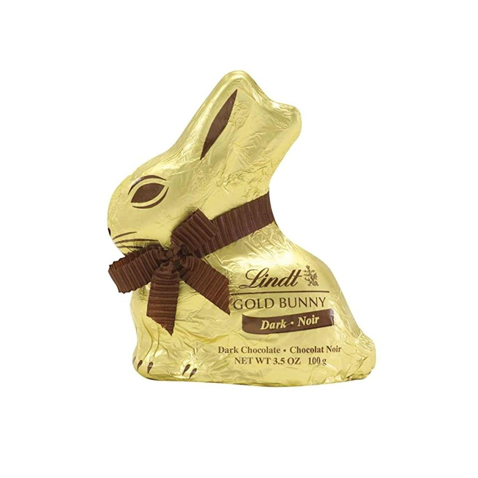 """<p><strong>Lindt</strong></p><p>amazon.com</p><p><strong>$10.94</strong></p><p><a href=""""https://www.amazon.com/dp/B004MAH9B2?tag=syn-yahoo-20&ascsubtag=%5Bartid%7C2164.g.35452335%5Bsrc%7Cyahoo-us"""" rel=""""nofollow noopener"""" target=""""_blank"""" data-ylk=""""slk:Shop Now"""" class=""""link rapid-noclick-resp"""">Shop Now</a></p><p>Prefer dark chocolate? Lindt's got you covered with this decadent version of the classic.</p>"""