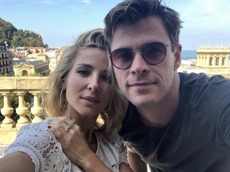 Chris Hemsworth and Elsa Pataky denied using 'fleets' of water trucks for their garden. Photo: Instagram/elsapatakyconfidential