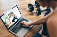 """<p>With many gyms still closed due to the pandemic, online workouts are great a great alternative to get the blood flowing. Here are some <a href=""""https://www.popsugar.com/fitness/online-workouts-that-are-free-during-coronavirus-outbreak-47314788"""" class=""""link rapid-noclick-resp"""" rel=""""nofollow noopener"""" target=""""_blank"""" data-ylk=""""slk:free online workouts"""">free online workouts</a> you can try from the comfort of your own home.</p>"""