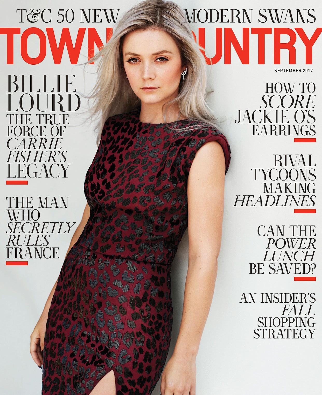 Town & Country's September cover. (Photo: Victor Demarchelier)