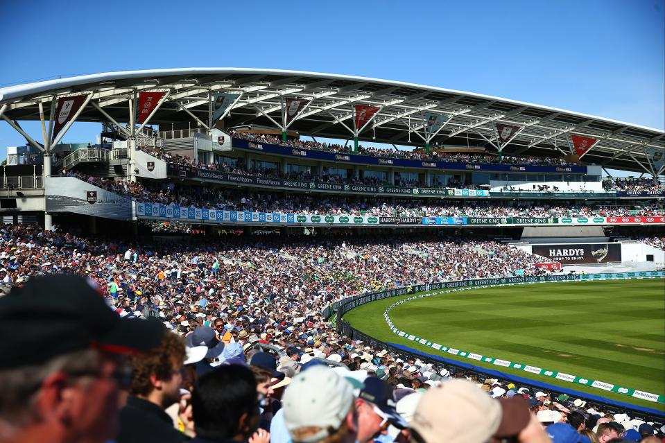 Fans could be back at The Oval by the time the Hundred starts in July  (Getty Images for Surrey CCC)