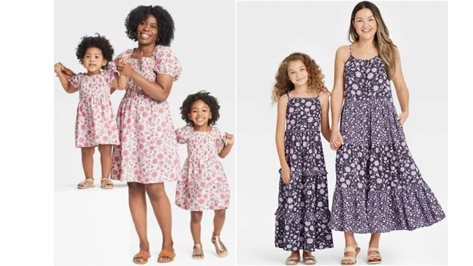 Target Mother-Daughter Outfits