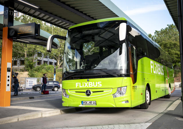 Flixbus has modernised bus travel in Germany with its app-based flexible-ticket booking. Photo: Fabian Sommer/dpa/picture alliance via Getty Images