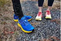 """<p>Nothing can divide the running club quicker than asking if <a href=""""https://www.runnersworld.com/uk/gear/shoes/a776671/best-running-shoes/"""" rel=""""nofollow noopener"""" target=""""_blank"""" data-ylk=""""slk:running shoes"""" class=""""link rapid-noclick-resp"""">running shoes</a> should be well padded or not. We have opinions and can talk for at least a half-hour uninterrupted about every variation of shoe.</p>"""