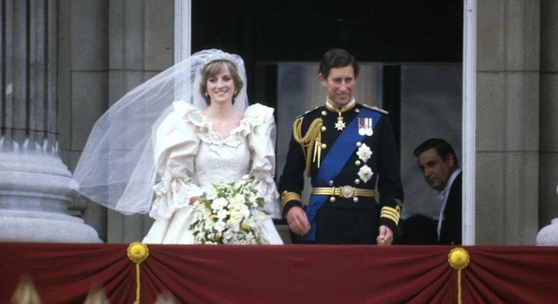 Princess Diana's waist shrunk by five inches in the run up to her 1981 wedding {Image: Getty]