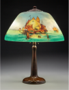 <p>The lamp you inherited that just didn't fit in with the rest of the room can possibly score you a wad of dough. Handel, Pairpoint, Fulper, and, of course, Tiffany, are just a few of the brands that collectors are looking for. </p><p><strong>What it's worth: </strong>Up to $45,000<br></p>