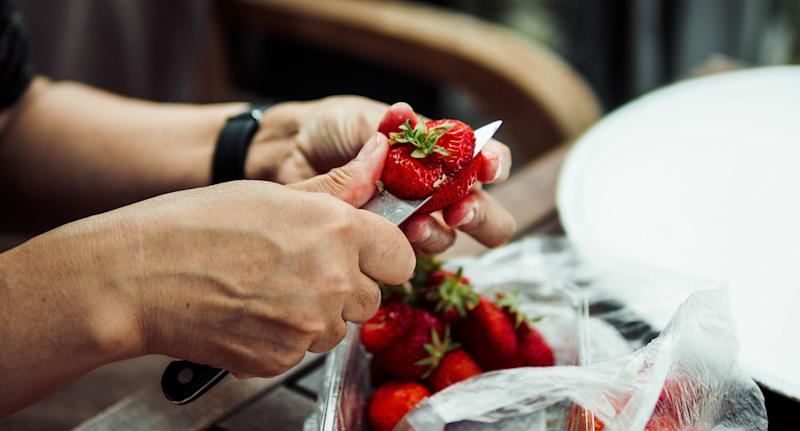 Needle found in Australian strawberries sold in NZ