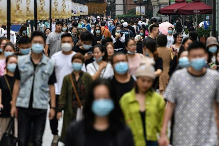 China reported 2.3 percent GDP growth in 2020 - the slowest in decades but still the only major economy to post positive figures during the pandemic
