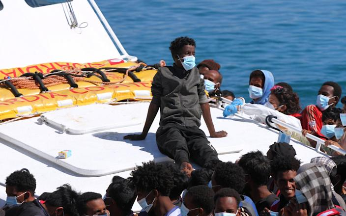 Nearly 13,000 migrants and refugees have arrived in Italy so far this year - Reuters