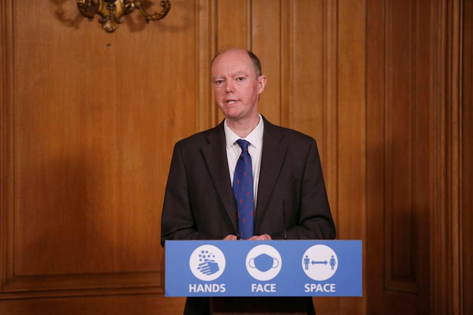 Chief medical officer Chris Whitty (PA)