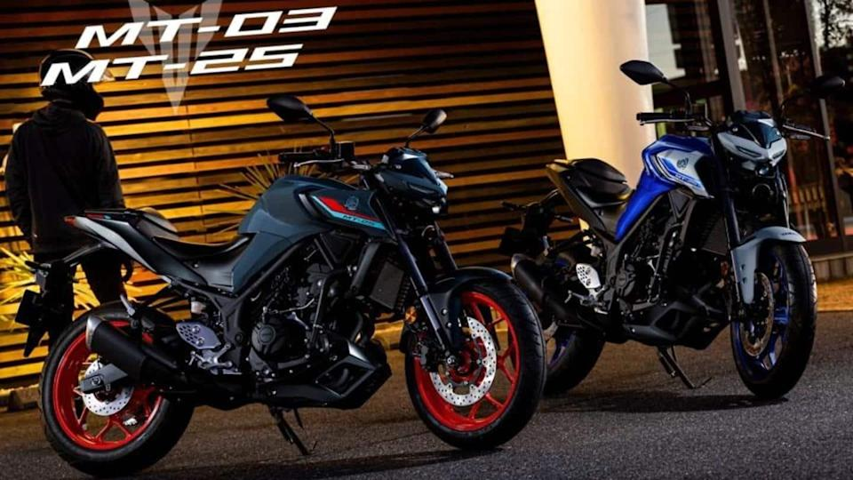 2021 Yamaha MT-25 and MT-03 bikes launched in Japan