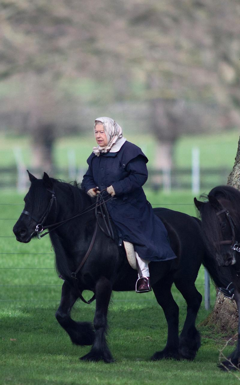 The Queen has been riding for over eight decades - Credit:  Kelvin Bruce