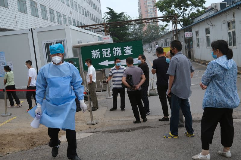 China reports three new coronavirus cases on June 30 vs 19 a day earlier