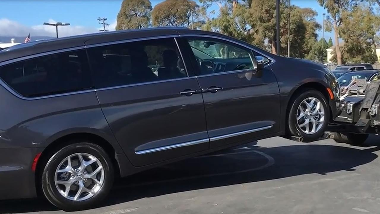 Chrysler is issuing a recall for 2017 Pacifica minivans, except hybrids, two months after the ABC7 I-Team reported some drivers experienced a stalling problem.