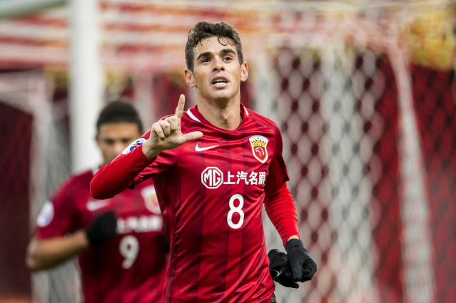 Oscar traded in the prestige of the Premier League for the money of the Chinese Super League