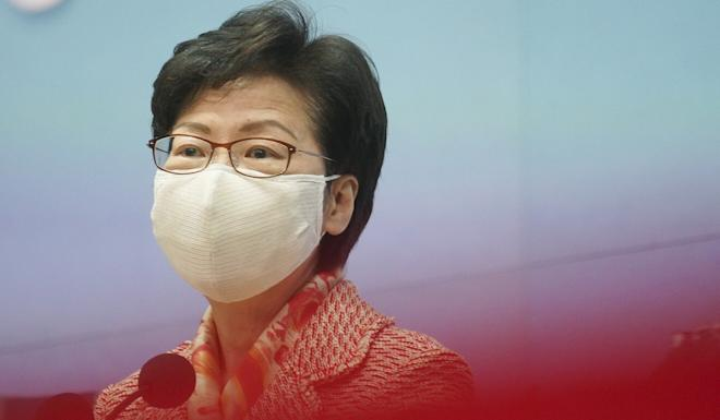 Carrie Lam. Photo: Winson Wong