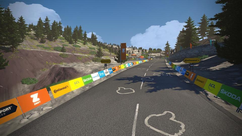 Zwift Tour de France: Stage 5