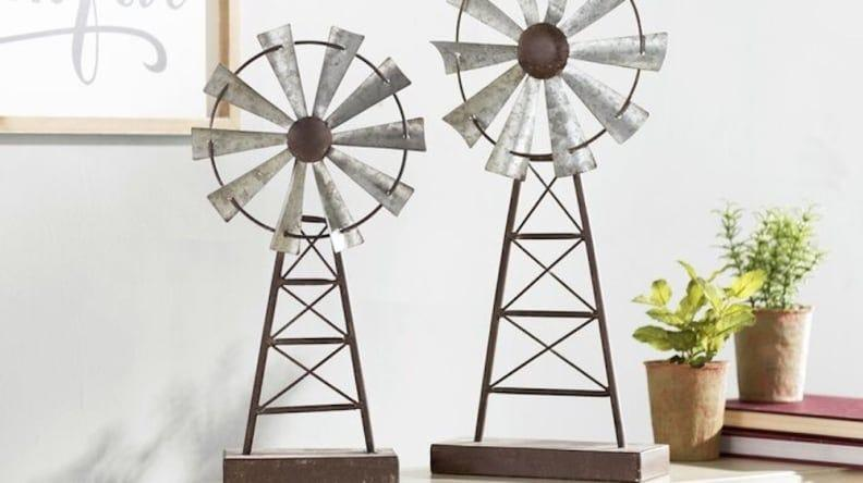 These windmills make a stunning decorative accent.